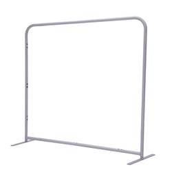 5ft x 54in EuroFit Straight Wall Floor Tension Fabric Display Hardware Only. The uniqueness of a tension fabric display is evident when you see one on the trade show floor.