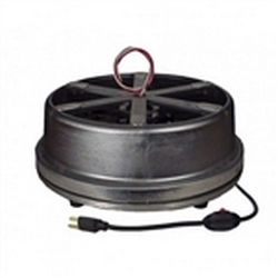 IR-300 Rotator Display Turntable (With Rotating Wires) have been designed with reliability, stability and ruggedness in mind. The sizable 14-inch (35.56 cm) top rotates on precision nylon tapered roller wheels.