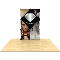 60in x 90in 3D Snap 2x3 Layout 1 Fabric Display Kit is unique product offering for Trade Showor event. The Xpressions series offers many of the features the exhibitors look for in a high quality trade show popup background displays.