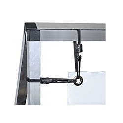 Replacement bungee cords for the Monsoon double sided billboard a-frame. Monsoon portable billboards are double sided A-frame banner displays for indoor and outdoor use. A semi-portable, double-sided billboard that features a strong frame.