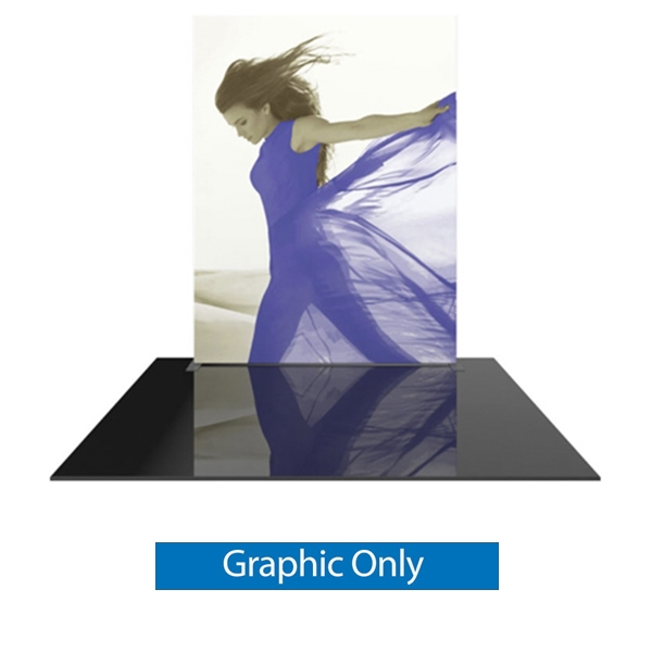 8ft x 10ft Formulate Master Straight Single Sided Graphic Only. This display offers graphic area to get you noticed at your trade show! Formulate Displays are available in three layouts: straight, horizontally curved, and vertica