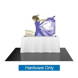 6ft Formulate TT1 Straight Table Top Display Hardware Only offers a sleek design in a compact size to fit any trade show table! Wide Variety of Affordable Portable Table Top Displays, Tabletop Trade Show Displays, Table Displays