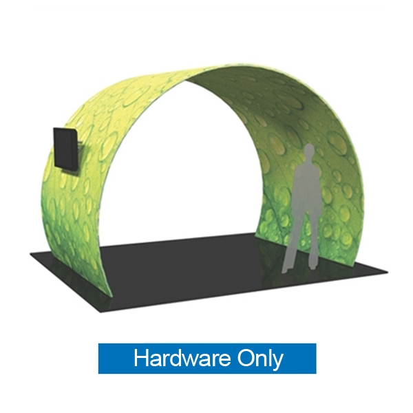 12ft x 8ft Formulate Arch 01 Tension Fabric Display Hardware Only add architecture and design to any event or interior space! Easily create and define a stunning entryway, focal point or stage set at your next tradeshow or event with Formulate Arches.