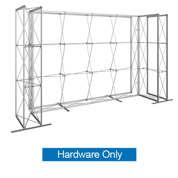 14ft Embrace U-Shape Push-Fit Tension Fabric Display with Double-Sided Full Fitted Graphic Hardware Only. Portable tabletop displays and exhibits. Several different styles are available, including pop up frames with stretch fabric or fold up panels