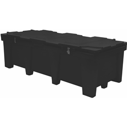 LCRATE Freight TradeShow Molded Case - heavy-duty freight case holds up to 24 layers of 4 x 4 panels. This large LCRATE Freight TradeShow Molded Case is designed for heavy use with national and international exhibit freight shipments.