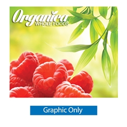 10ft Straight Ready Pop Single Sided Fabric Pop Up Trade Show Display Graphic No  Endcaps are best choice for tradeshow displays, convention booths and promotional exhibits. Fabric pop up displays are the FASTEST booth on the market to setup and take down