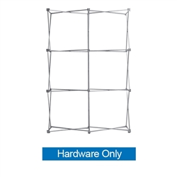 5ft x 7.5ft Straight RPL Fabric Display Frame Only. Straight RPL Fabric Pop Up Trade Show Display Single Sided is the perfect display on the go. RPL Fabric PopUp Display is the alternative display for Ready Pop fabric pop-up trade show backwall display