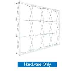 10ft x10ft Straight RPL Fabric Pop Up Display Frame ONLY is the light version of our Ready Pop Fabric Pop Up Display. RPL displays reaches a height of 10 feet! 10ft x 10ft RPL Fabric Pop Up is the perfect display on the go. It's ready in minutes.