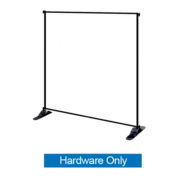 This 4ft x 8in Jumbo Banner Stand Tube Display has both stability and looks. It is adjustable in both width and height to allow multiple graphic sizes, and has a large base that can be filled with either water or sand. Telescopic Banner Stand.