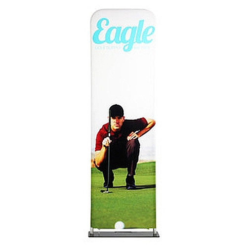 24in x 114in EZ EXTEND Double Sided Graphic Package are perfect for displaying at any event. EZ EXTEND Fabric banner stands features one of the most unique designs on the market. Banner stands look great as an addition to portable display or exhibit
