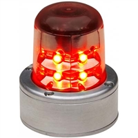 Whelen 01-0771055-00 Model 7105500 Red LED 14V Beacon