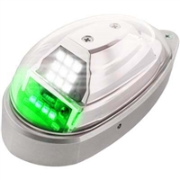 Whelen Orion 650 Series 01-0790725-11 Model OR6502G Green LED 28V Position Anti-Collision Light Assembly