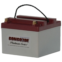 Concorde RG24-16 24V Aircraft Battery