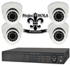 Loaner ProjectNOLA Crime Camera package including FOUR 1080p HD Day/Night weatherproof crime cameras and a Pro-Grade DVR that may be viewed via the Internet and be received by the ProjectNOLA Real-Time Crime Information Center at UNO