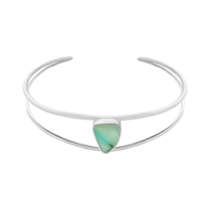 Luna Cuff Bracelet in Sterling + MORE COLORS
