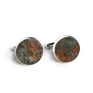 Round Cufflinks + MORE COLORS