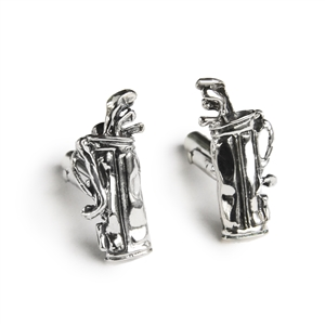 Golf Clubs & Bag Cufflinks