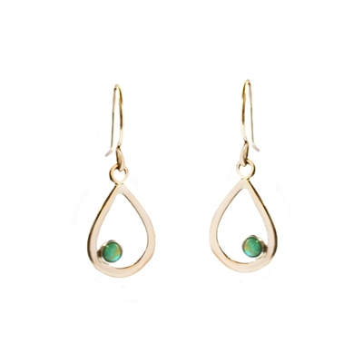 Raindrop Earrings in 14k Gold Filled + MORE COLORS