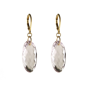 Elegant Faceted Drop Earrings in Gold Filled + MORE COLORS
