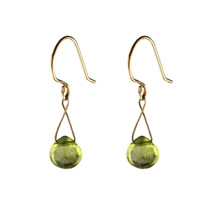 Twinkling Briolette Earrings in Gold Filled + MORE COLORS
