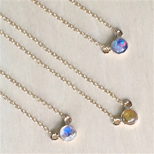 Lovely Mini Necklace in Sterling or 14k Gold Filled + MORE COLORS