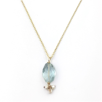 Tiny Bliss Necklace in 14K Gold Filled + MORE COLORS