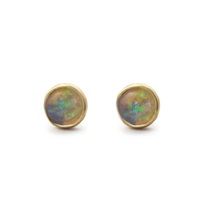 14K Yellow Gold Small Post Earrings + MORE COLORS