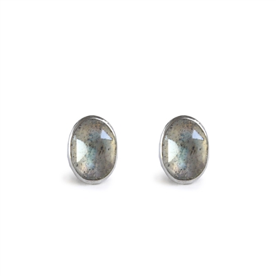 Allure Tiny Cabochon Earrings + MORE COLORS