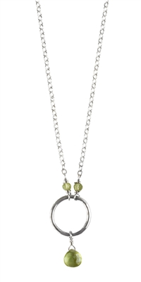Petite Precious Circle Necklace + MORE COLORS