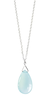 Large Silver Twinkling Briolette Necklace + MORE COLORS