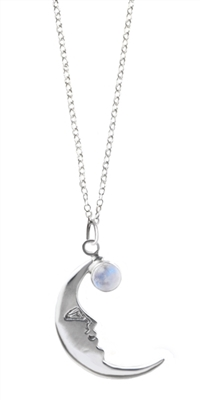 Medium Crescent Moon Pendant