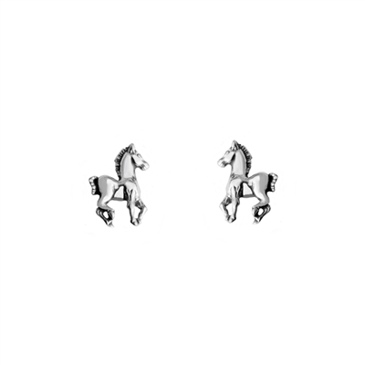 Tiny Horse Post Earrings