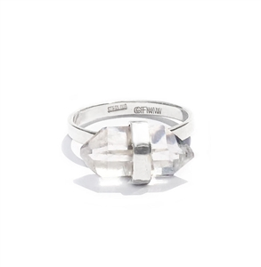 Herkimer Diamond Candy Ring by Great Falls Jewelry
