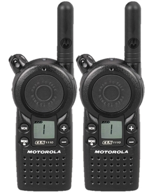Motorola CLS1110 2 Pack Radio Bundle