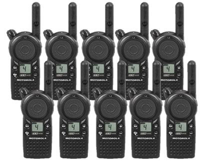 Motorola CLS1410 Two Way Radio 10 Pack