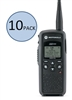 Motorola DTR550 10 Pack Two Way Radio Bundle