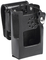LCC-354S Leather Case with Swivel Mount for VX-350 Series