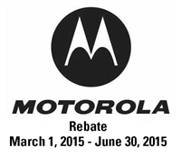Motorola Two Way Radio Rebate for Spring 2015