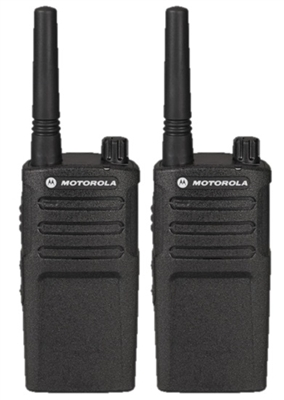Motorola RMU2040 2 Pack UHF Two Way Radio Bundle