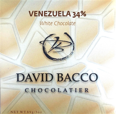 34% VENEZUELA - WHITE CHOCOLATE