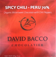 70% ECUADOR - SPICY CHILI - ORGANIC DARK CHOCOLATE