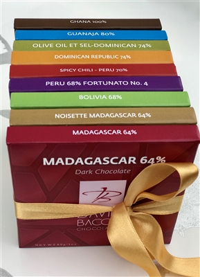 SINGLE ORIGIN DARK CHOCOLATE COLLECTION