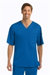 "Barco Grey's Anatomyâ""¢ - Men's 3 Pocket V-neck Scrub Top. 0103"