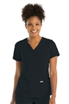 "Barco Grey's Anatomyâ""¢ - Women's 3 Pocket Mock Wrap. 4153"