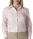 Van Heusen - Ladies' Long Sleeve Silky Poplin. V0114