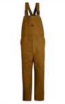 Bulwark - Brown Duck Unlined Bib Overall HRC2. BLF8