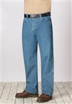 Bulwark - Men's Flame-Resistant Stone Washed Loose Fit Denim Jean. PEJ6
