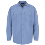 Bulwark - Flame-Resistant Button-Front Work Shirt. SEW2
