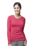 Carhartt Scrubs - Women's Long-Sleeve Burn-Out Jersey Sub-Scrub. C30109