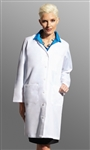 "Fashion Seal - Ladies' 39.5"" Traditional Length Lab Coats. 477"